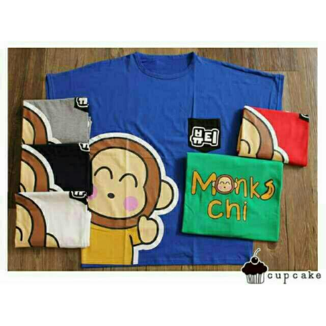 Saya menjual Kaos wanita / kaos lengan pendek / jumbo monkichi / size XXL seharga Rp55.000. Dapatkan produk ini hanya di Shopee! https://shopee.co.id/ssfashionkaos/462252264 #ShopeeID