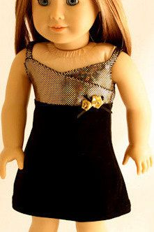 American+Girl+Doll+Clothes++Holiday+Dress+of+by+Forever18Inches