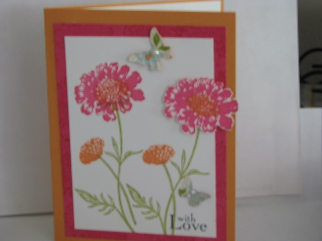 Stampin Up -- Field Flowers Stamp Set