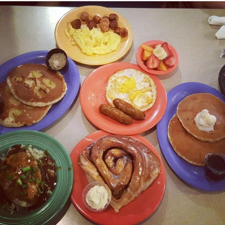 Polly's Fan @lillc0101 knows how to do our Hawaiian breakfast! #pollyspies #followifyoulovepie