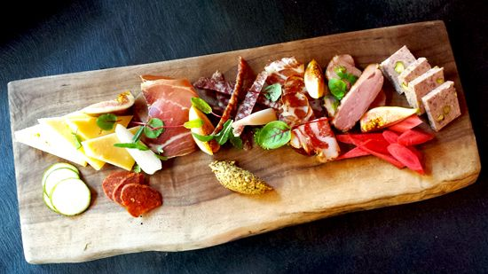 Charcuterie board | Trace at the W Hotel in Austin Tx | Melody Gourmet Fury