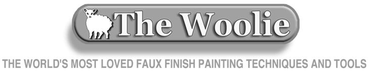 The Woolie Starter Painting Kits - For Fast and Easy Faux Paint Projects - Beginners to Professionals - Save Time and Money - Lowest Price - Super Fast Shipping