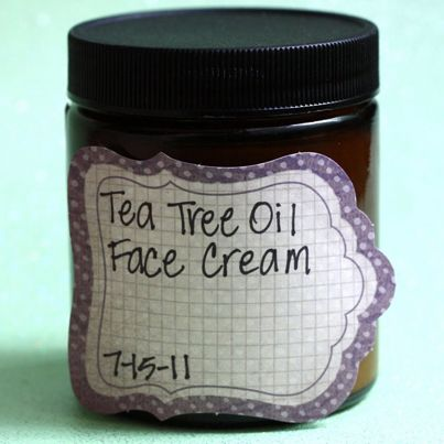How To Make Your Own Rejuvenating Tea Tree Face Cream