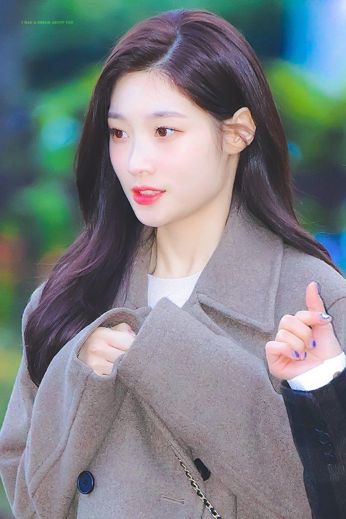 Pin by 위백 이 on I.O.I Chaeyeon, Kpop girl groups, Hair beauty