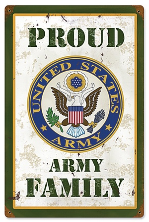 This shows that in the story duke Hobie family had a sign like this in the window and they were really proud to be a army family also at the end Hobie dad and duke came home safe and sound.