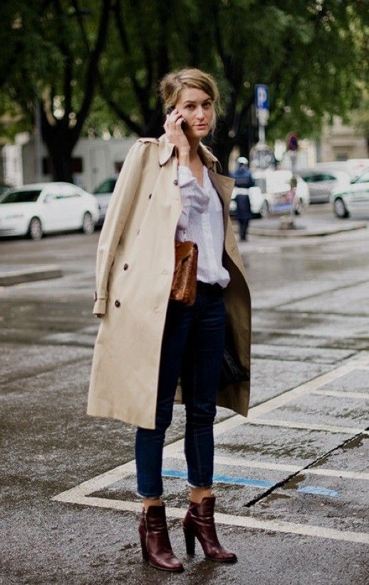 trench coat | street style | fashion | rain | fall outfits | winter outfits | 6 Stylish Ways to Dress for the Rain | rainy weather | seattle