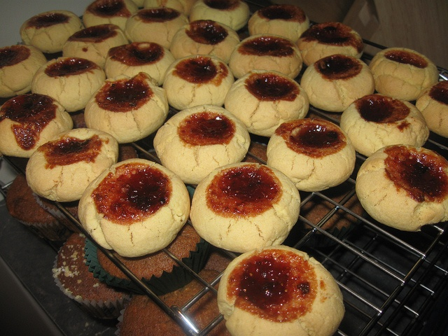 Jam Drops, made in the Thermomix.  The only problem with making these is that once you eat one.. you can't stop!