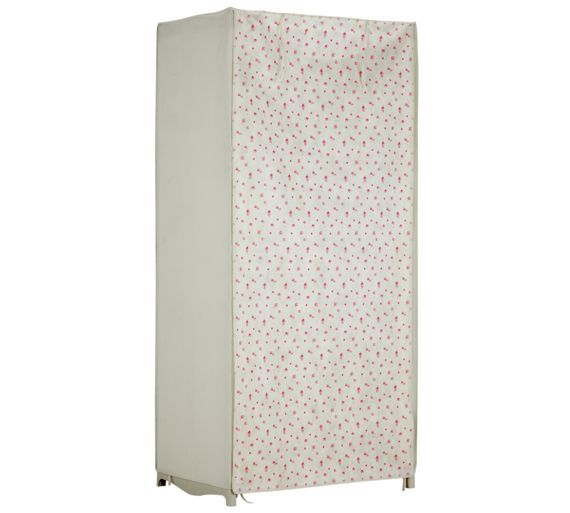 Buy HOME Single Covered Clothes Rail - Chintz at Argos.co.uk, visit Argos.co.uk to shop online for Wardrobes, Bedroom furniture, Home and garden