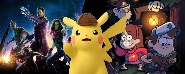 La película de #Pokémon estará escrita por los guionistas de #GuardianesdelaGalaxia y #GravityFalls OGROMEDIA Films