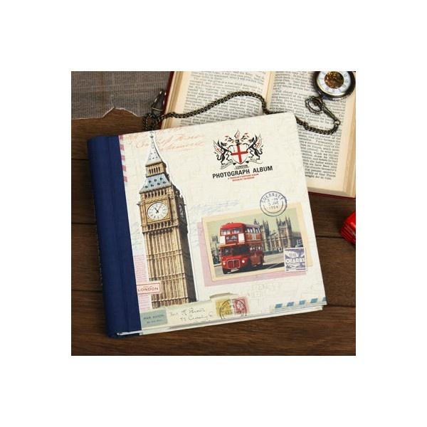 London Photograph Album - Navy
