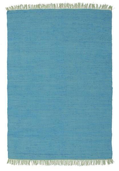 Atrium Code Blue Designer Flat Woven Rug