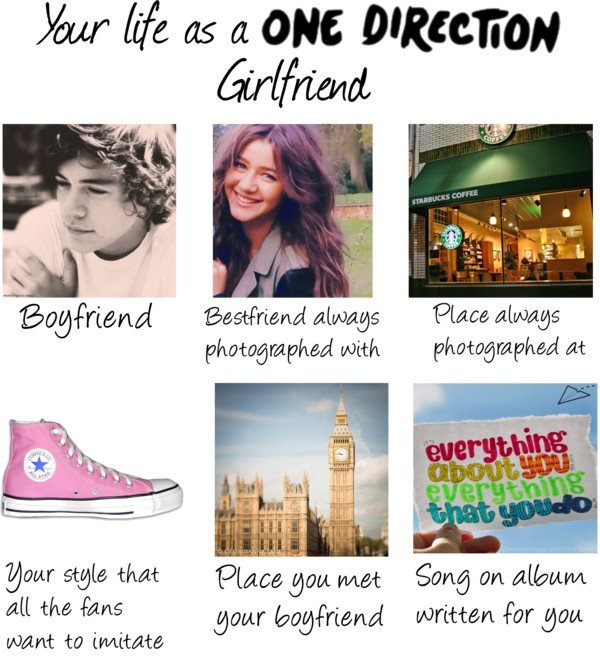 """My life as a One Direction Girlfriend"" by lillyrenee on Polyvore"