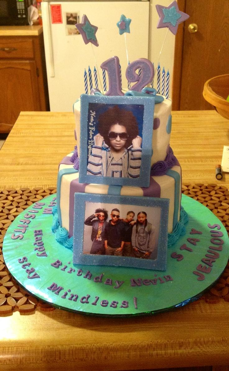 Mindless Behavior Birthday Cakes
