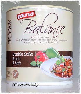 Pzycho Babys kleine Produkttest- und Beautyecke : Gefro Balance - Gesunde Fertigprodukte