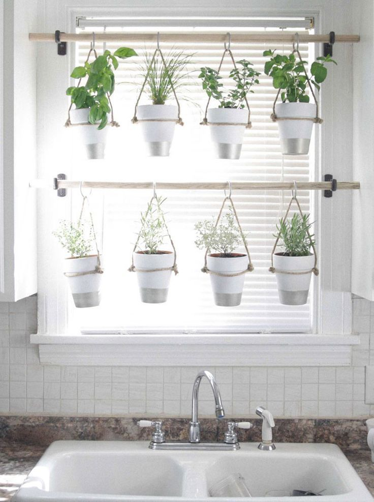 Ideas For The Kitchen Window Dressing - Mobelde.com