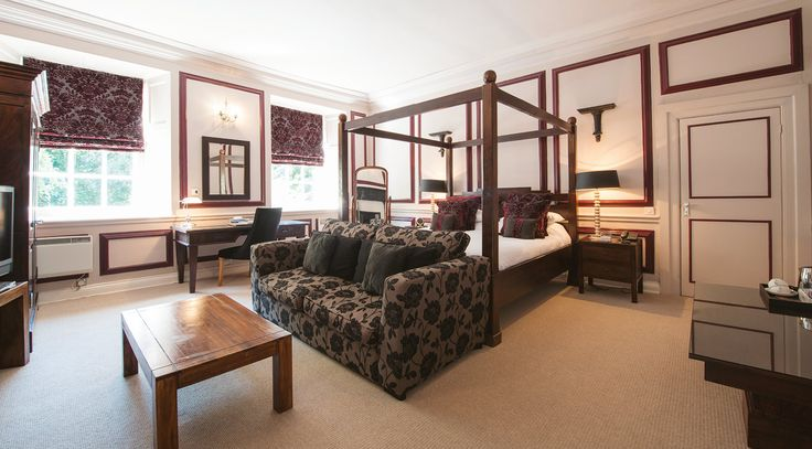 King suite - Langdon court, manor house hotel Devon.