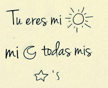 Eres mi ☼