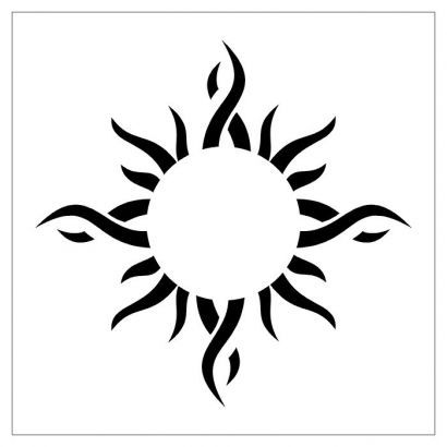 Tribal Sun Tattoos Pics Design.                                                                                                                                                     More