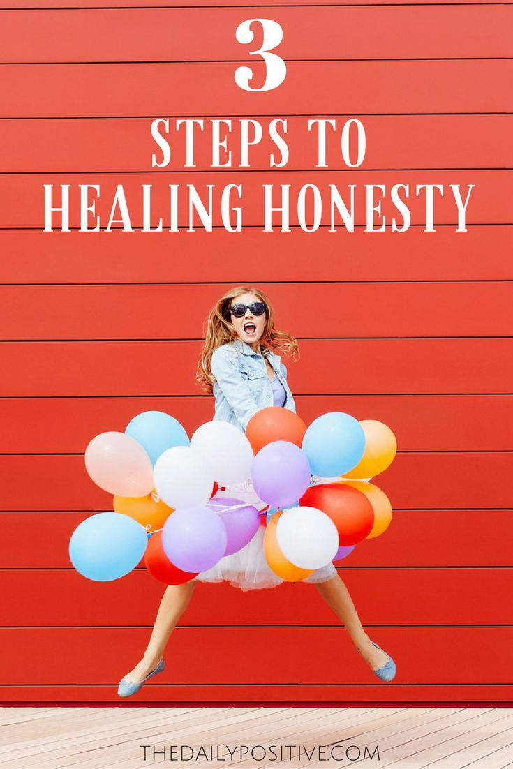 3 Steps To Healing Honesty
