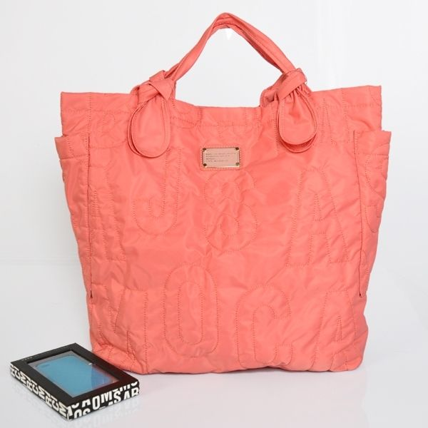 Marc Jacobs Tote Bags: Marc By Marc Jacobs Pretty Nylon Core Tate Bag in  Pink