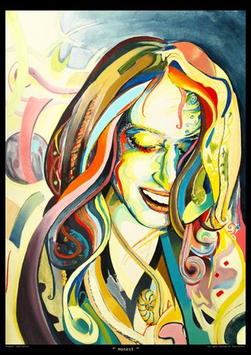 Etsy- toobaposters facebook- Tooba Posters #painting #poster #girl  #beautiful #cute #colorful #colourful #amazing #modern #decoartion