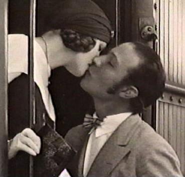 Rudolph Valentino and Natasha Rambova.