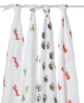 We LOVE these swaddling blankets!  They are a nice big size for wrapping baby in and have so many uses- nursing cover, stroller blanket, toddler sheet, etc.: Babies, Anais Swaddle, Against, Aden, Baby Swaddle, Products, Classic, Muslin Swaddling Blankets, Swaddling Blankets