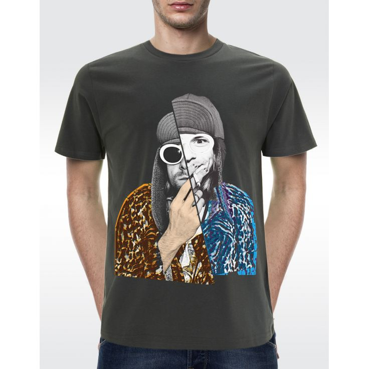 M01 KURT COBAIN T-shirt Men's Organic T-shirt - Climate Neutral® Available in 6 colours