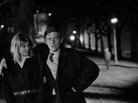 Julie Christie and Tom Courtenay - Billy Liar (1963)
