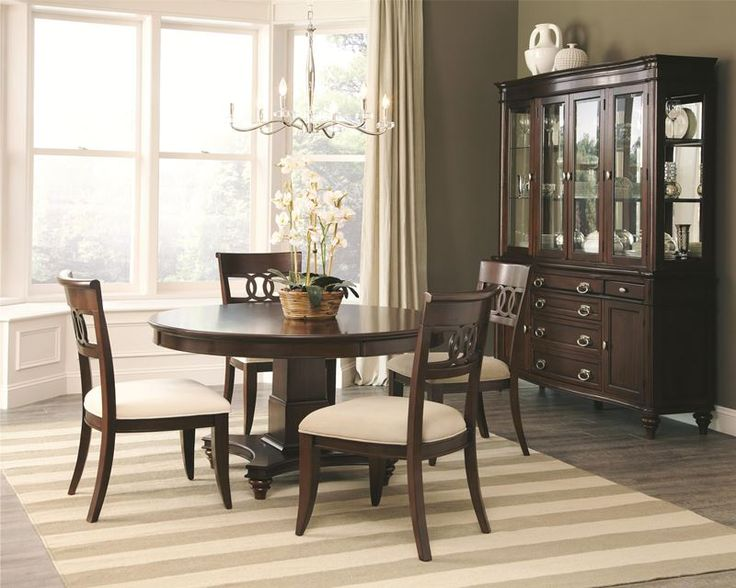 Best 25+ Round Dining Room Sets Ideas Only On Pinterest | Formal .