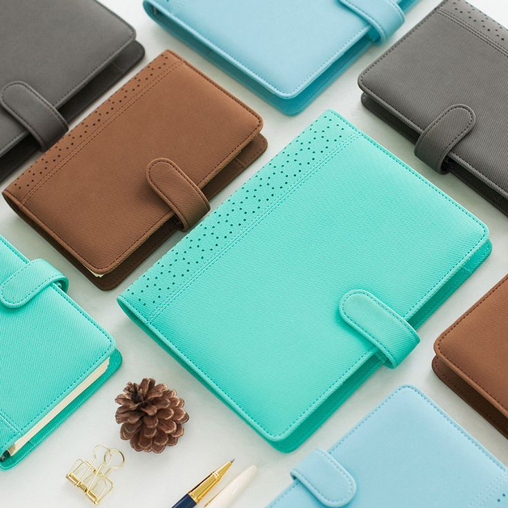 New macaron hollow leather spiral notebooks stationery,fine person agenda organizer/binder diary weekly planner filofax A5 A6-in Notebooks from Office & School Supplies on Aliexpress.com | Alibaba Group