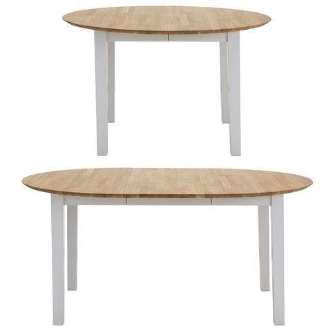 17 meilleures id es propos de table ronde avec rallonge for Table ronde de salle a manger avec rallonge