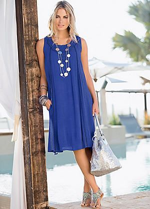 Together Swing Lace Detail Dress #kaleidoscope #holiday