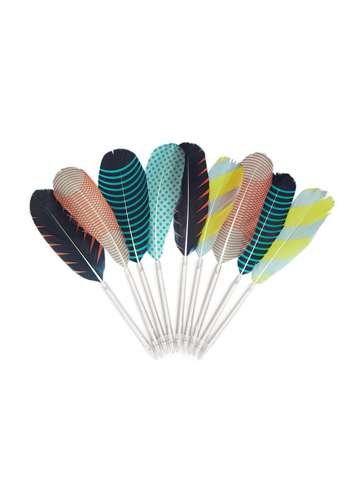 HAY - Feather pen | Stationery & Books Lifestyle | Home & Lifestyle | Lane Crawford - Shop Designer Brands Online