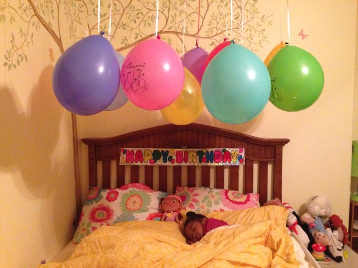 Birthday Morning Surprise For My Soon To Be 4 Year Old