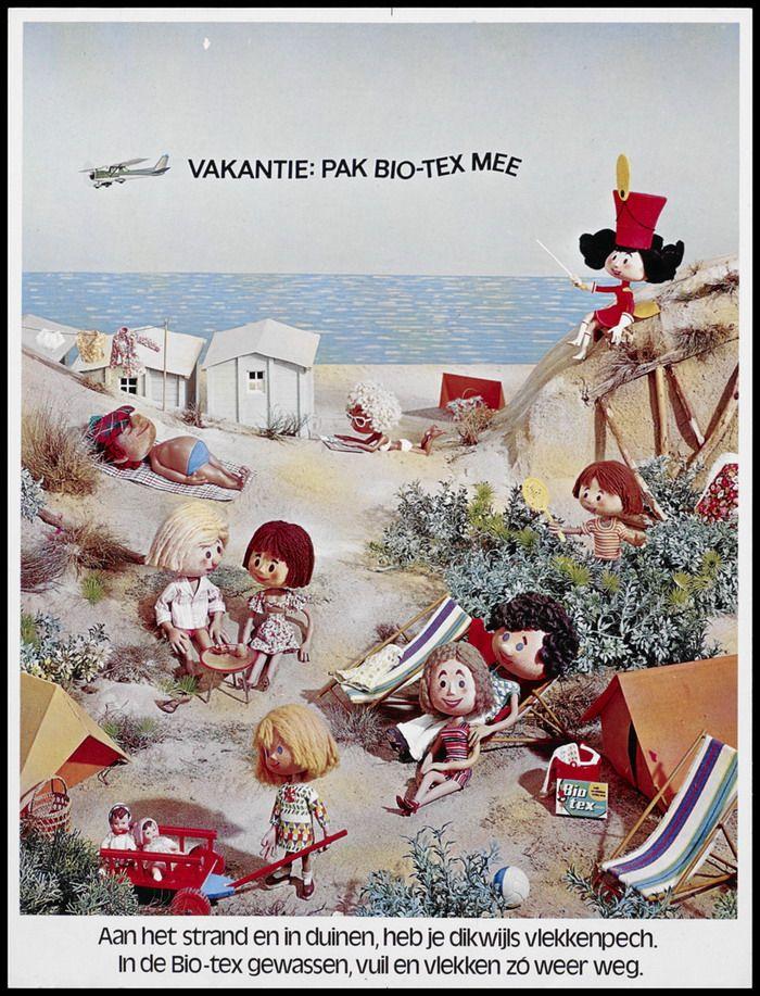Advertentie Biotex Groen 1963-1998