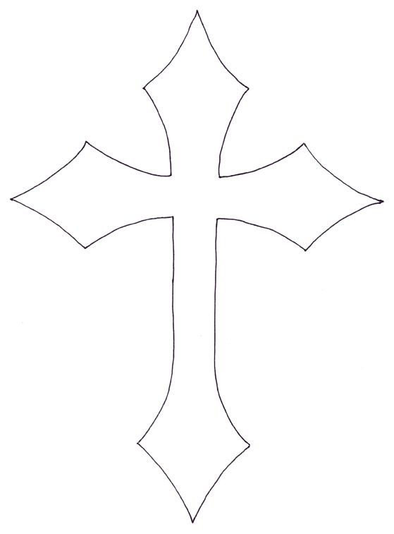 Sharp Cross Tattoo Design: Pin By Brenda Rowton On Templates