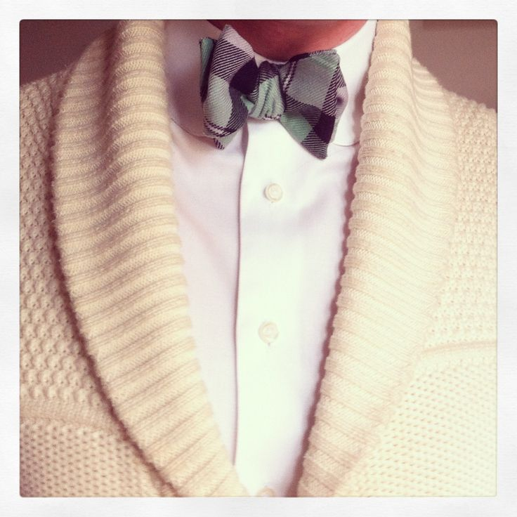 Cardigan et nœud papillon du loir en papillon www.leloirenpapillon.com  #bowtie #noeudpapillon #dandy #mode #elegant
