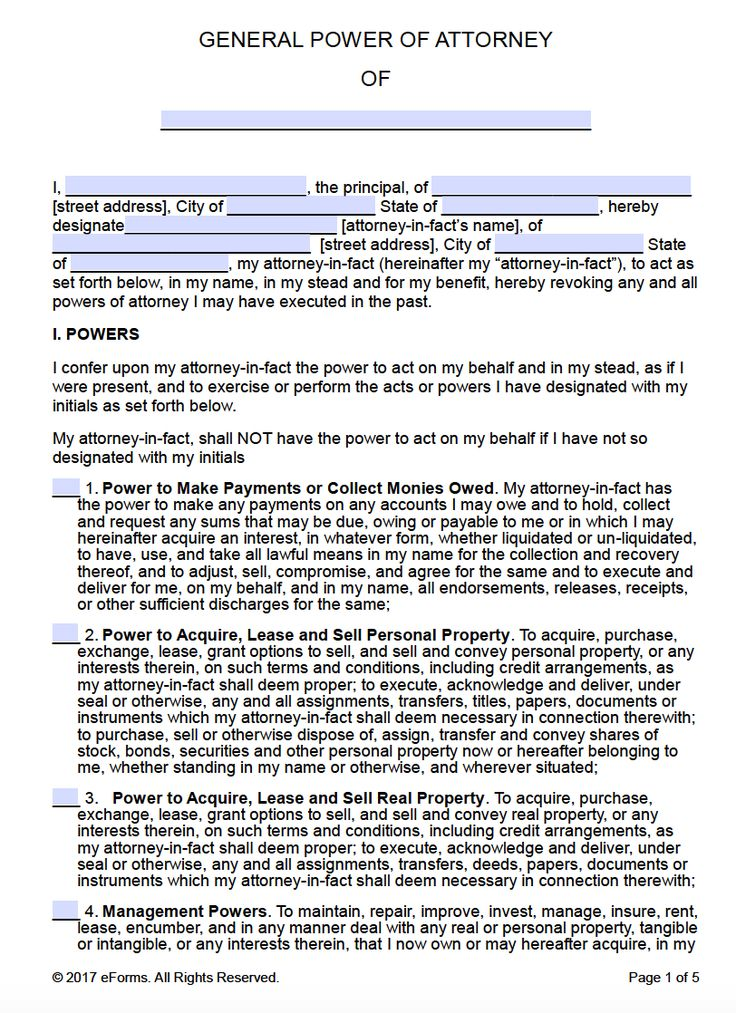 General Power Of Attorney Form Pdf 4 Lessons That Will