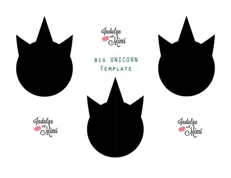 28 best Unicorn images on Pinterest Unicorn party, Birthday - macaron template