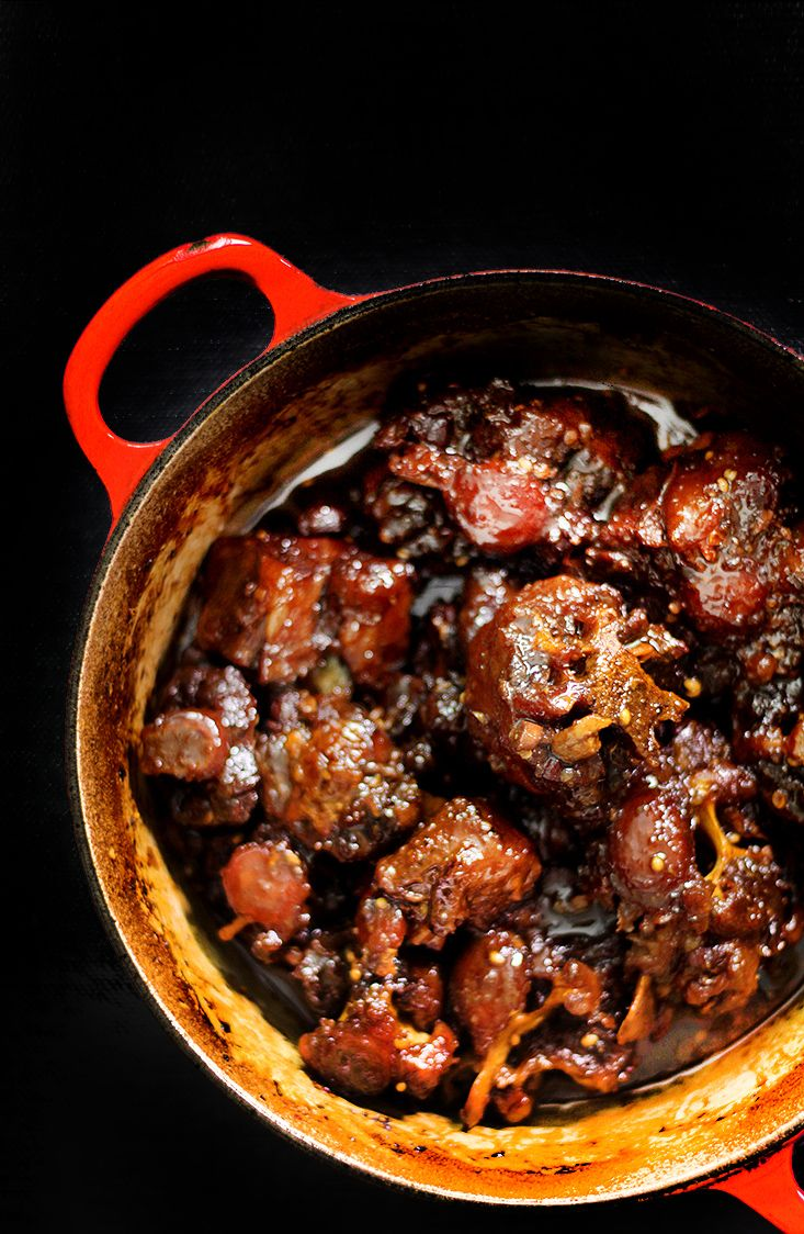 A family recipe.  Sichuan peppercorn braised oxtail.  http://www.ladyandpups.com/2013/08/16/sichuan-peppercorn-red-braised-ox-tail-eng/