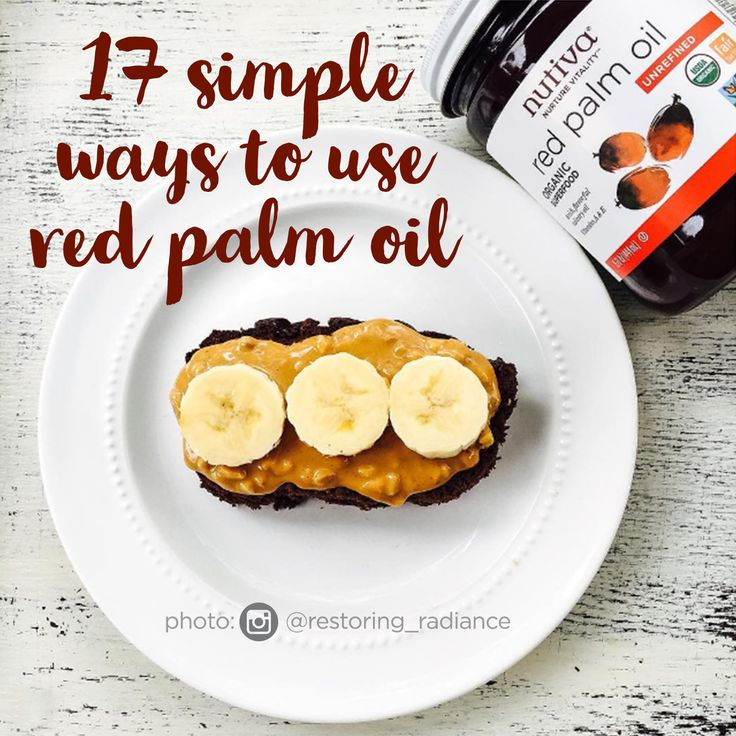 17 Simple Ways to Use Red Palm Oil kitchen.nutiva.com Organic Palm Done Right  Nutiva's red palm oil is sustainable and does not contribute to deforestation, habitat destruction or human rights offenses