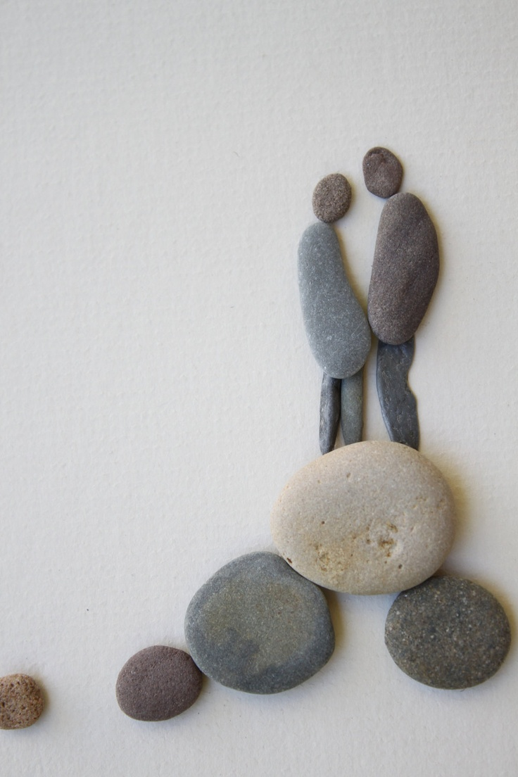17 best images about pebble crafts on pinterest creative. Black Bedroom Furniture Sets. Home Design Ideas