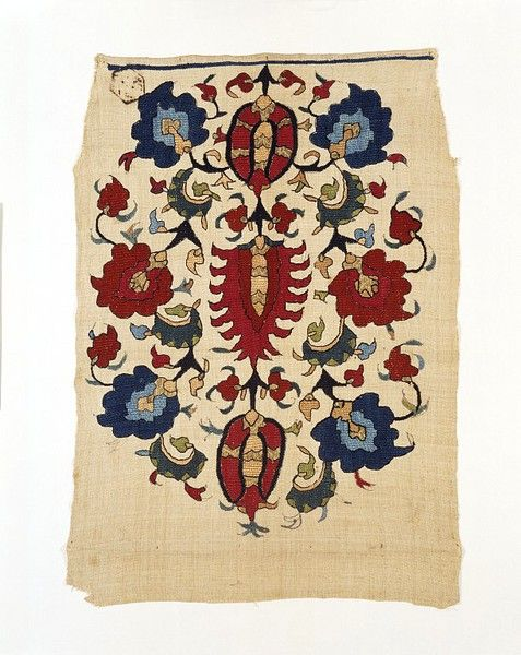Turkish textile 1850s. Would love a huge rug of this.