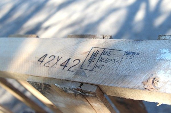 free pallets: where to find 'em, what to look for