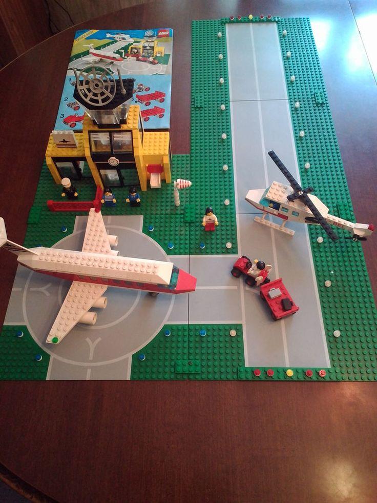 Винтаж 1985 Lego Город классический аэропорт 6392 100% в комплекте с инструкциями | Игрушки и хобби, Конструкторы, Конструкторы LEGO | eBay!