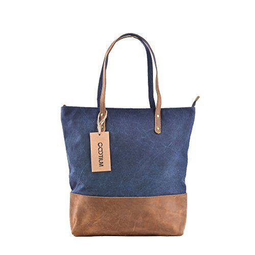 New Trending Shopper Bags: Gootium 41232NV Canvas Full Grain Leather Shoulder Handbag,Navy. Gootium 41232NV Canvas Full Grain Leather Shoulder Handbag,Navy   Special Offer: $32.99      100 Reviews Product Structure: There are separate compartments inside the bag, two of which can be closed with a zipper to protect valuables. The main chamber is zippered as well. Genuine, FULL...