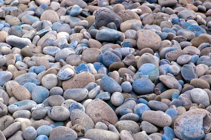Pebbles on beach at Stormsriver Nature Reserve, Western Cape, September 2014