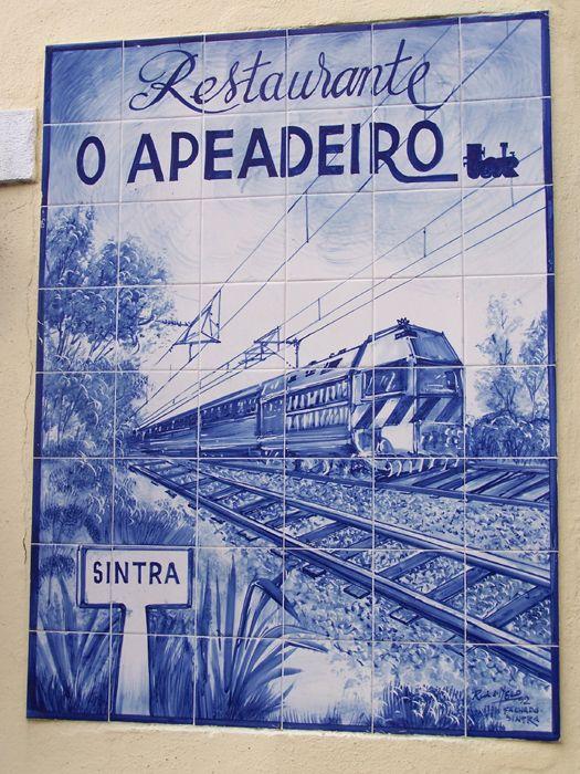 Portuguese tiles, Sintra, Azuelejos