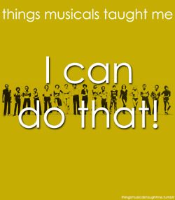 things musicals taught me .. A Chorus Line